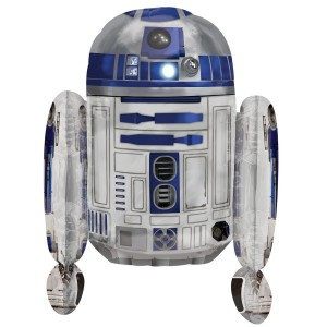 Balon Star Wars R2-D2 3D / 66 cm