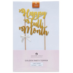 Topper Happy Full Month złoty