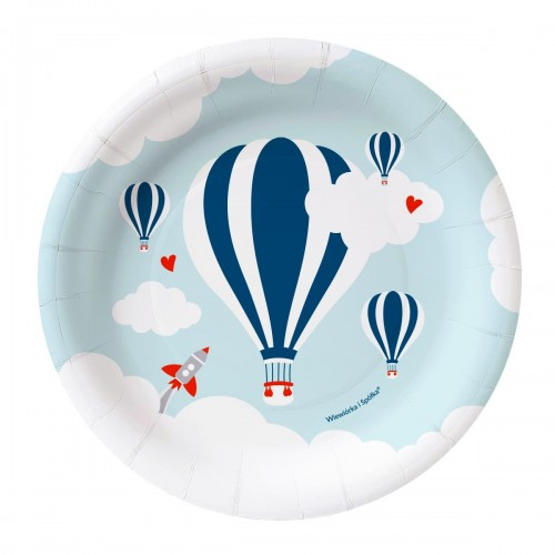 talerze-balon-Wiewiorka-i-Spolka-hot-air-balloon-party-plates-Squirrel-and-Company