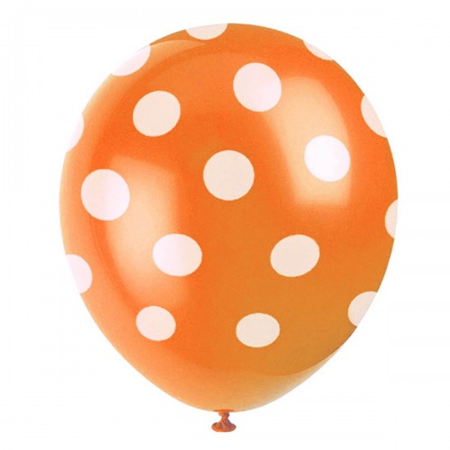 balony-pomaranczowe-w-groszki-kropki-Wiewiorka-i-Spolka-dots-orange-latex-balloons-Squirrel-Company