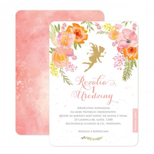 zaproszenia-na-urodziny-rozowe-kwiatowe-czarodziejska-wrozka-Wiewiorka-i-Spolka-personalised-birthday-invitations-flowers-magic-fairy-Squirrel-Company